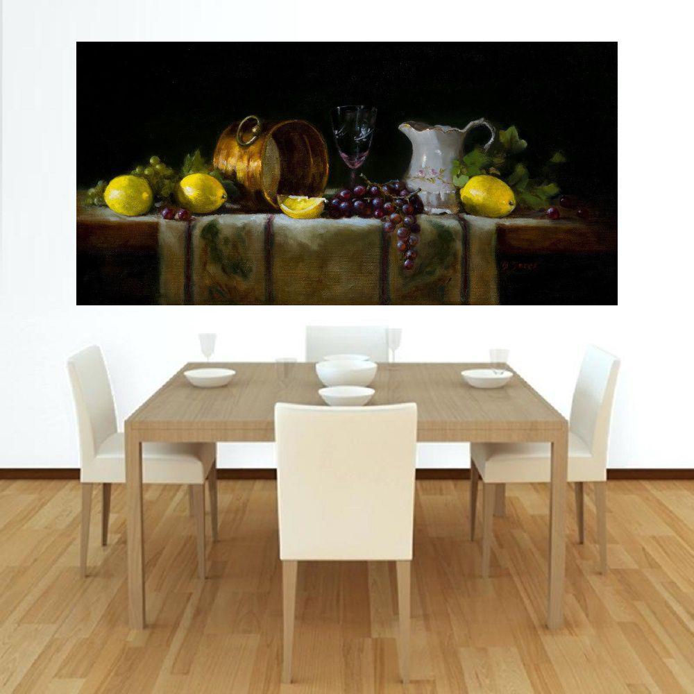 Quadro Pintura Tela Abstrato Moderno Cod 2300