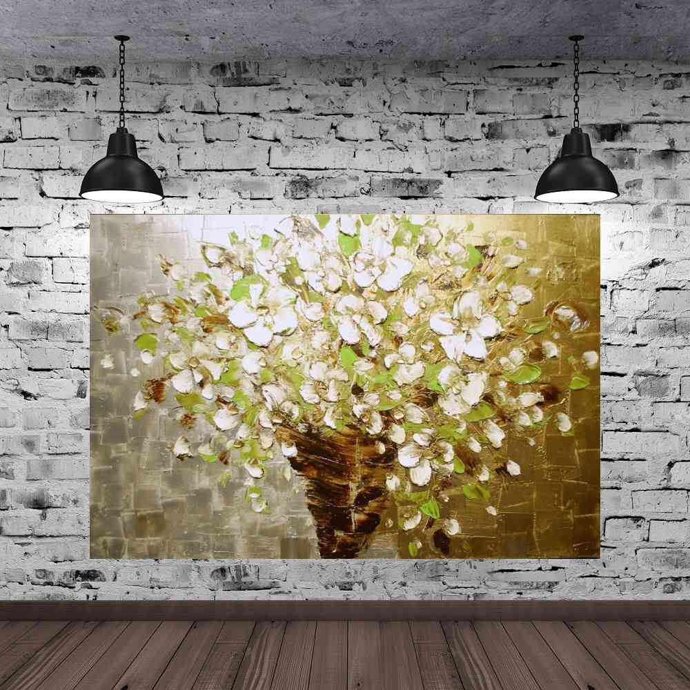 Quadro Pintura Tela Abstrato Moderno Cod 2409