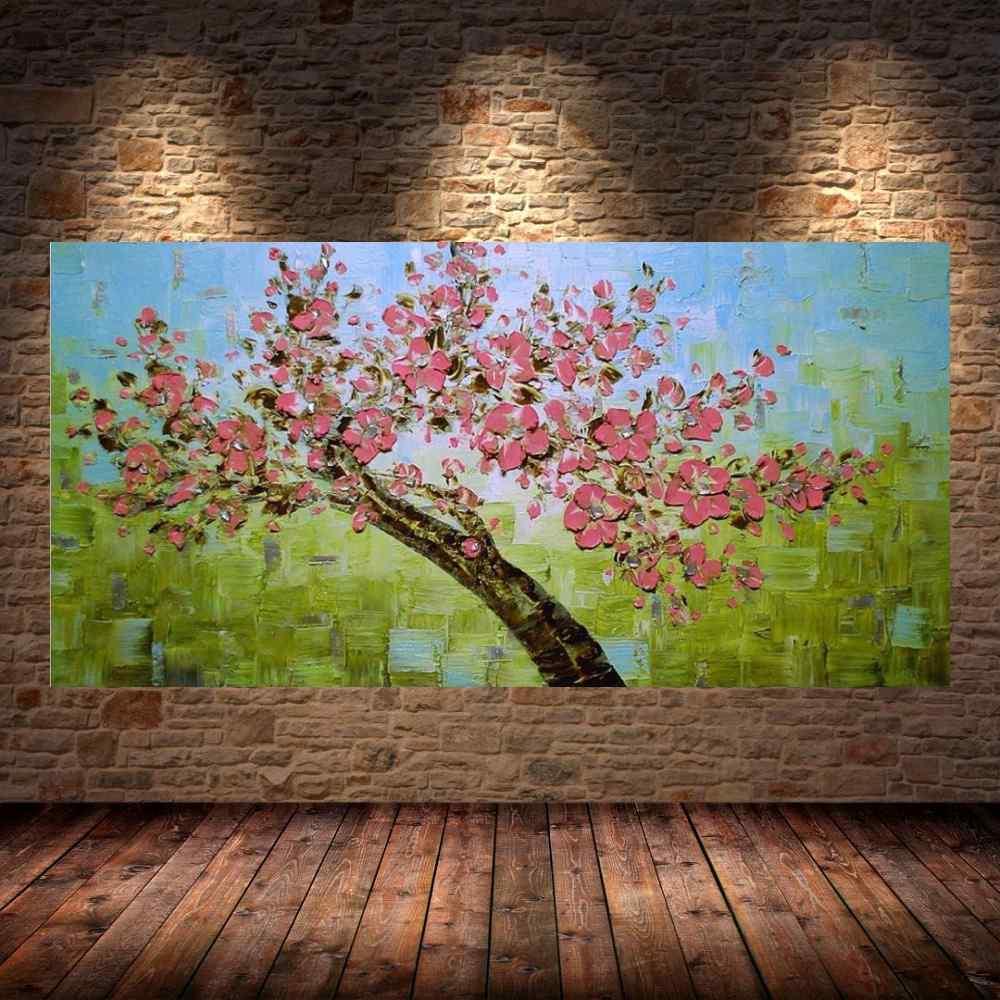 Quadro Pintura Tela Abstrato Moderno Cod 2412