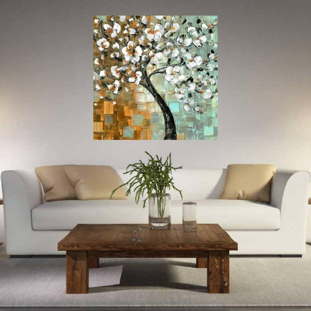 Quadro Pintura Tela Abstrato Moderno Cod 2418