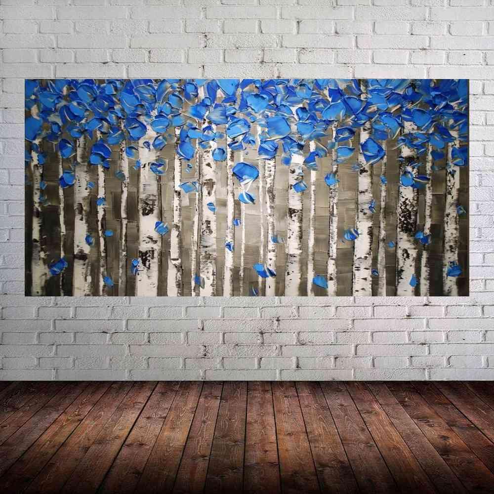 Quadro Pintura Tela Abstrato Moderno Cod 2448