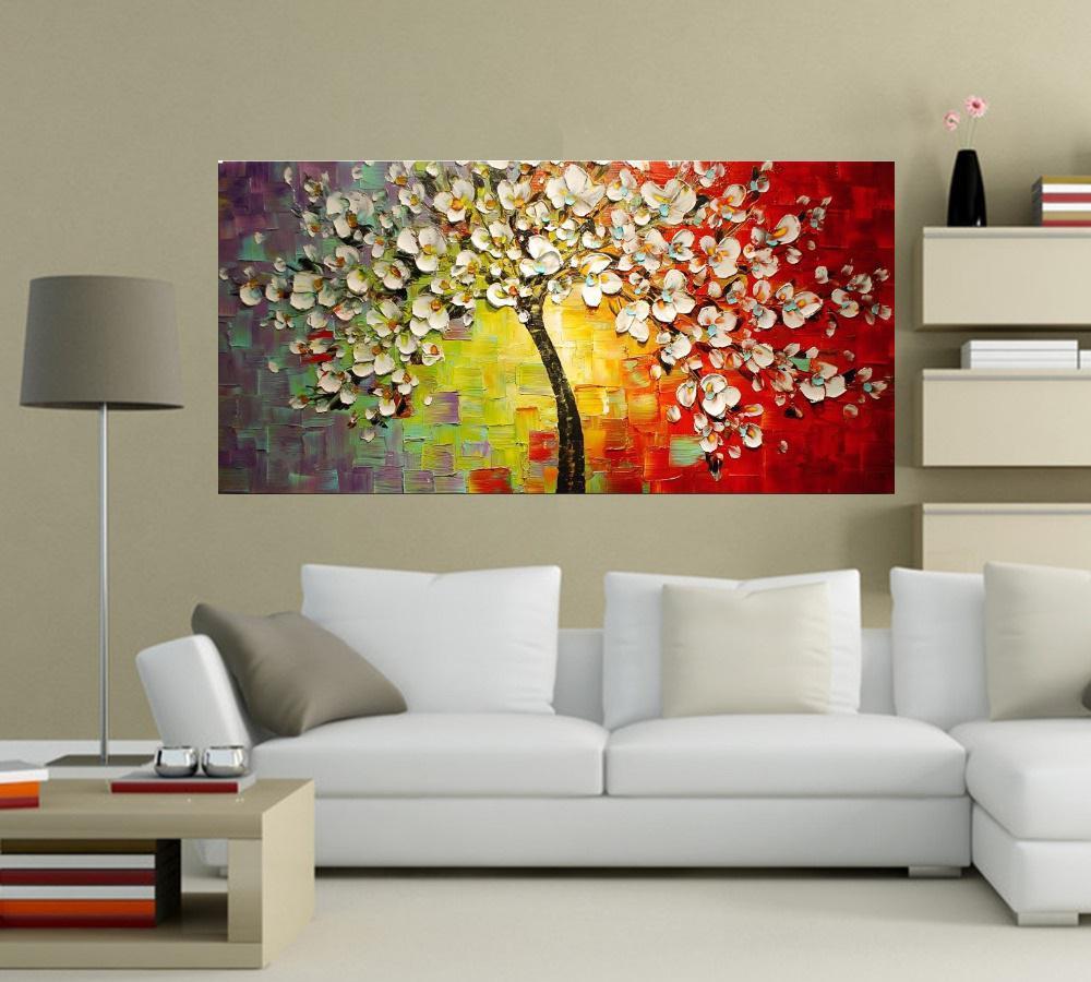 Quadro Pintura Tela Abstrato Moderno Cod 2449