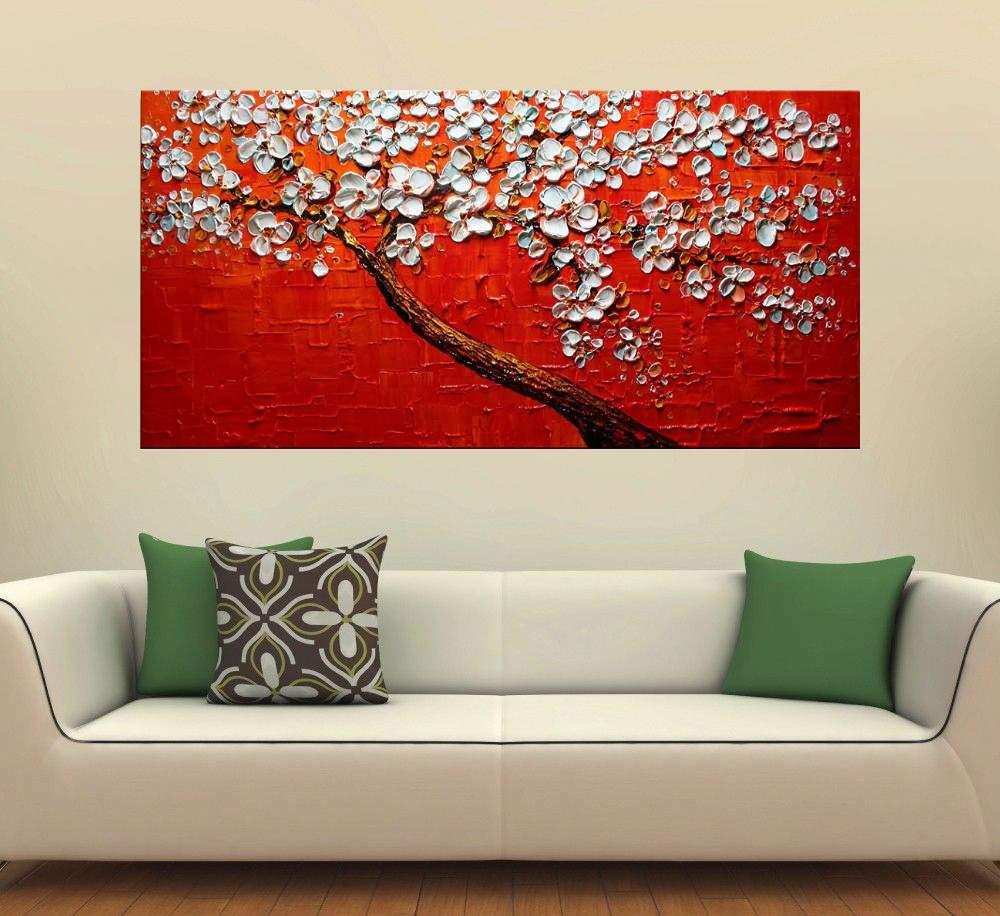 Quadro Pintura Tela Abstrato Moderno Cod 2450