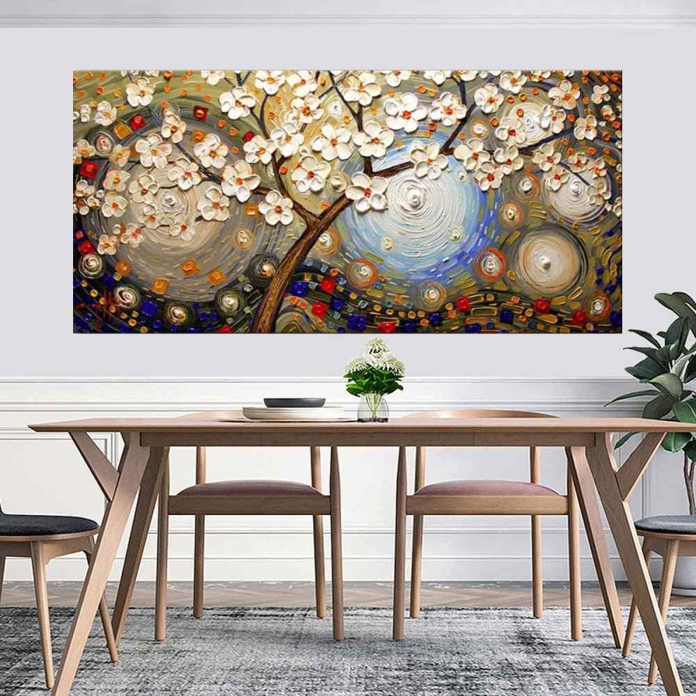Quadro Pintura Tela Abstrato Moderno Cod 2451