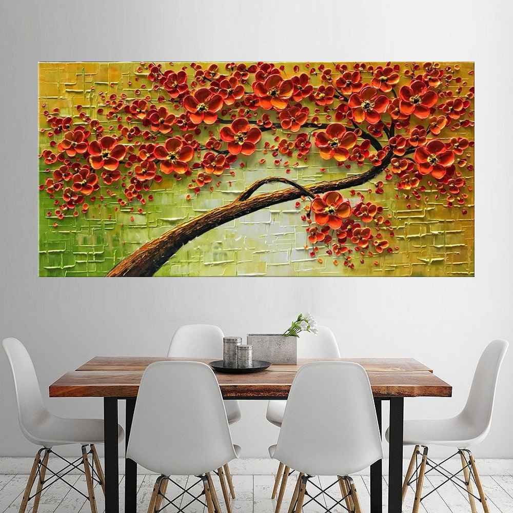 Quadro Pintura Tela Abstrato Moderno Cod 2456