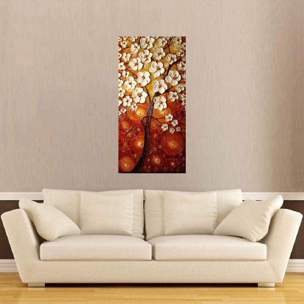 Quadro Pintura Tela Abstrato Moderno Cod 2458