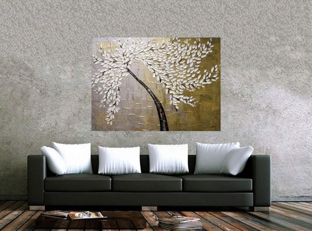 Quadro Pintura Tela Abstrato Moderno Cod 2460