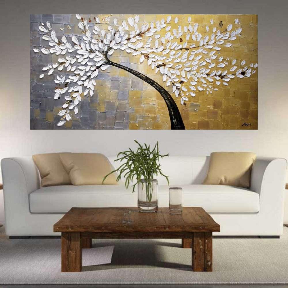 Quadro Pintura Tela Abstrato Moderno Cod 2461