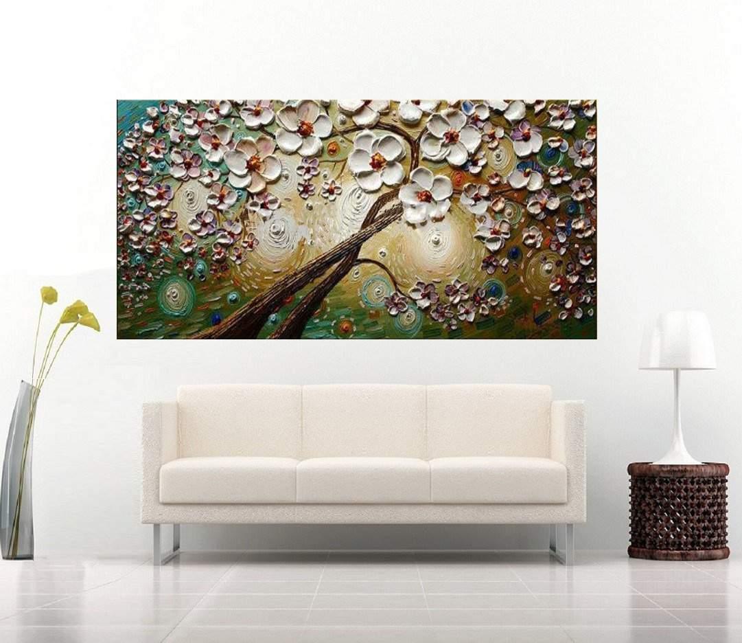 Quadro Pintura Tela Abstrato Moderno Cod 2462