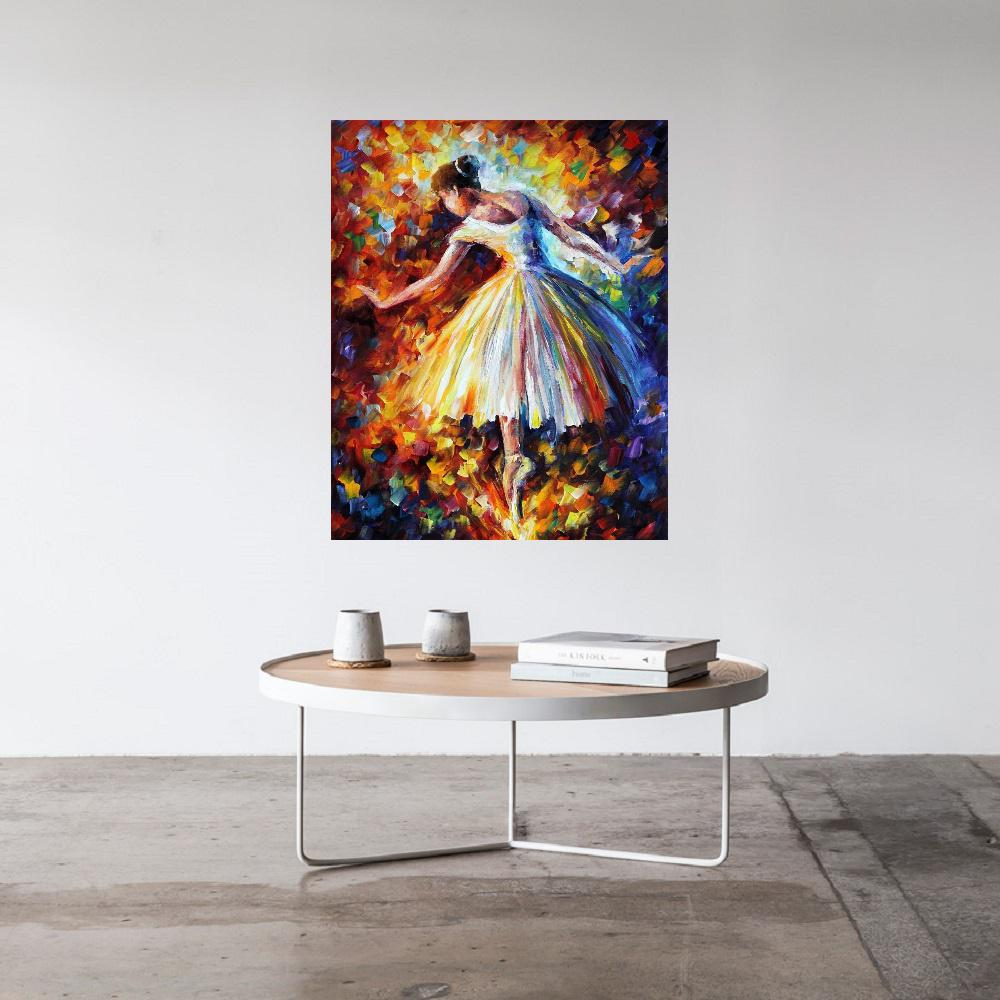 Quadro Pintura Tela Figurativo Cod 4333