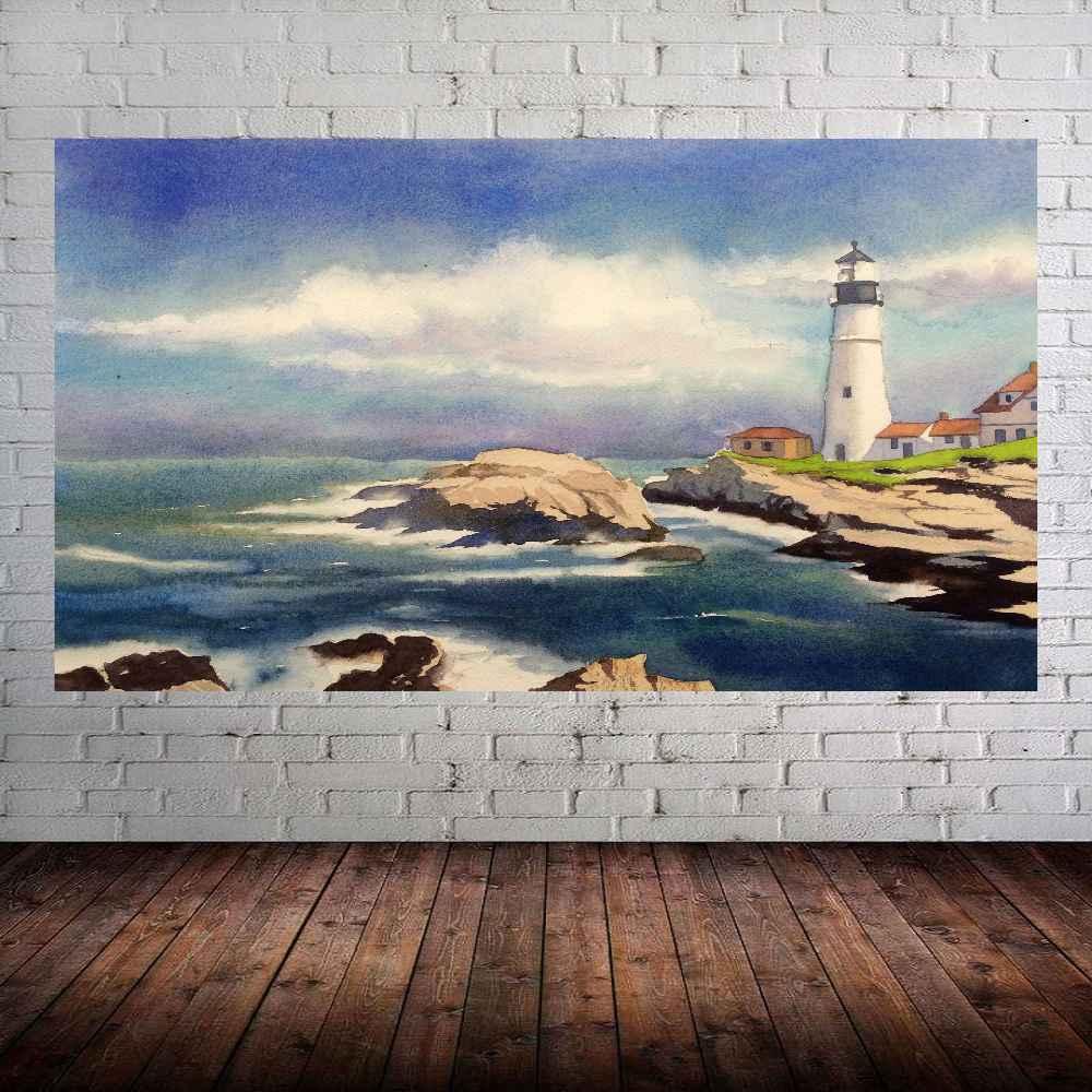 Quadro Pintura Tela Moderna Marinas Cod 2423