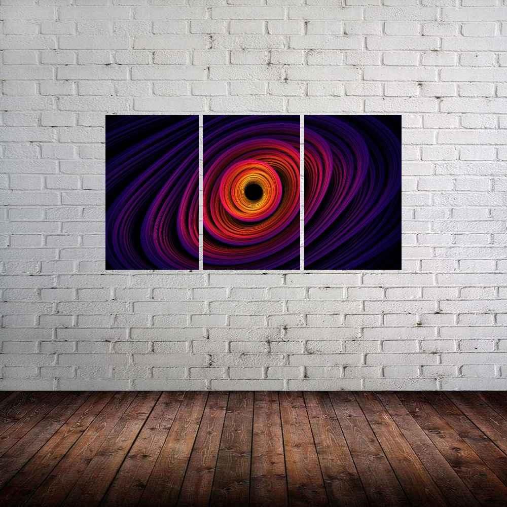 Quadro Roxo Abstrato Impressão em Canvas Fine Art Cod 7044