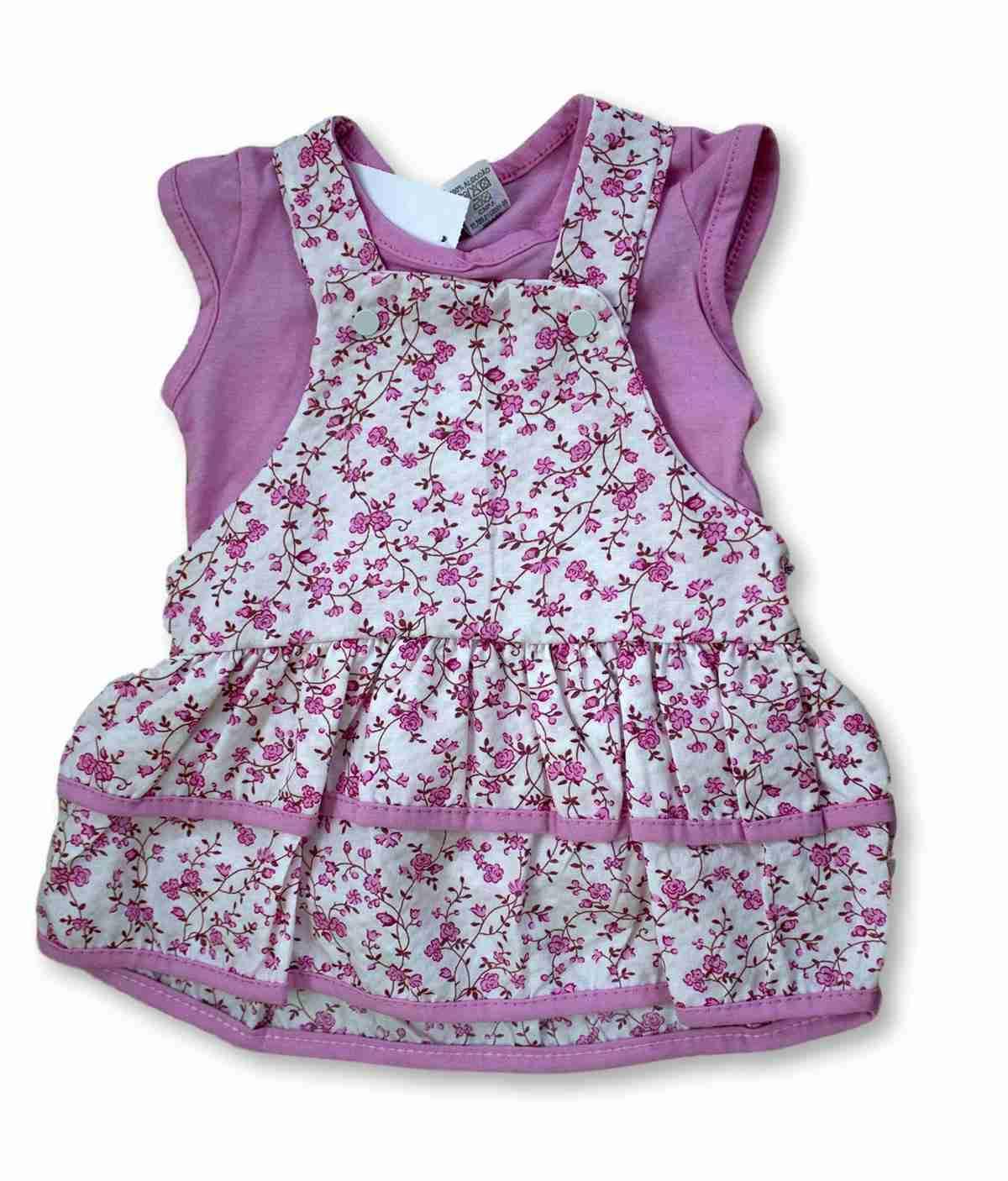 Vestido Bebê Recém Nascido Feminino Menina Cod 9061