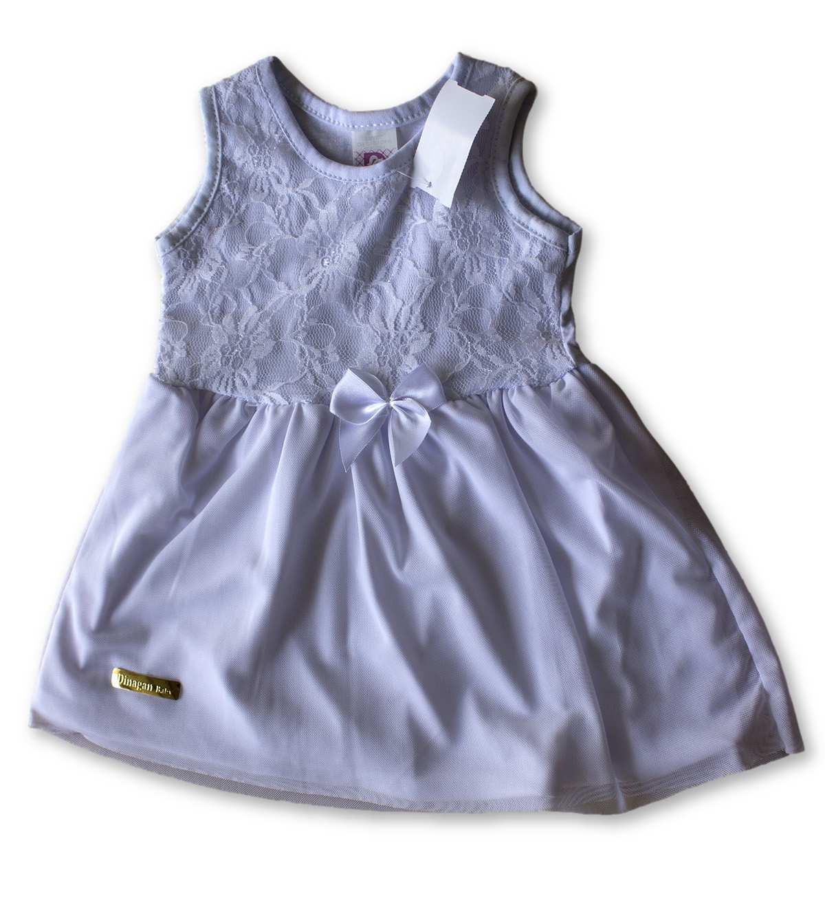 Vestido Bebê Recém Nascido Feminino Menina Cod 9106