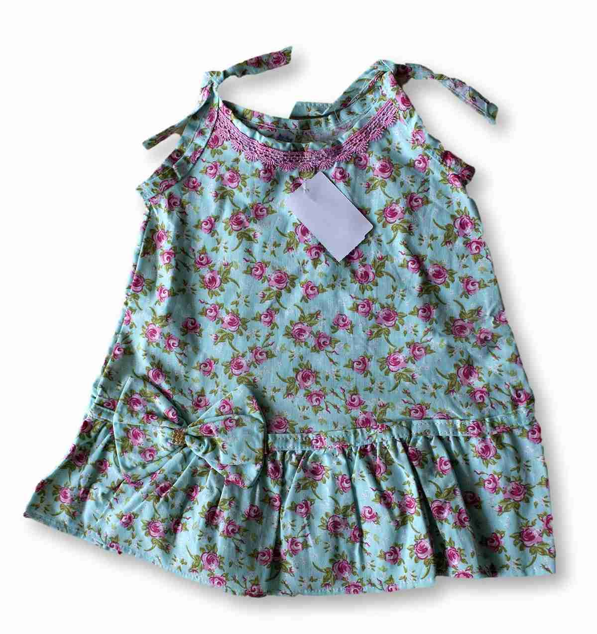 Vestido Bolero Bebê Recém Nascido Feminino Menina Cod 9092