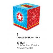 CAIXA LEMBRANCINHA SUPER HERO BOY PCT C/8 UNIDADES