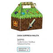 CAIXA SURP MALETA MINI PIXELS PCT C/8 UNIDADES