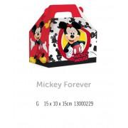 CX MALETA KIDS MICKEY MOUSE FOREVER G 15x10x15 PCT C/10 UNIDADES
