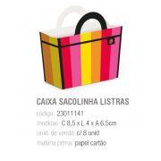 CX SACOLINHA DE FEIRA LISTRAS QUITANDINHA 8,5x4x6,5 PCT C/8 UNIDADES