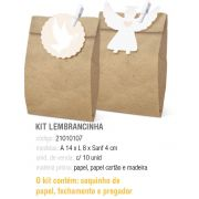 KIT LEMBRANCINHA BATISMO SORTIDO G 14x8x4 PCT C/10 UNIDADES