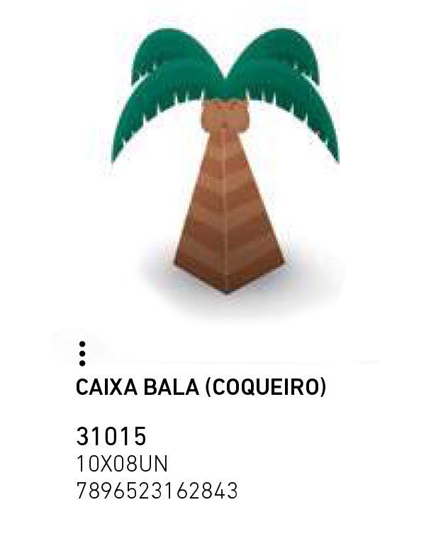CAIXA BALA (COQUEIRO) FLAMINGO PCT C/8 UNIDADES