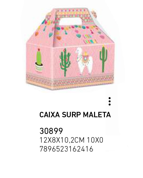 CAIXA SURP MALETA LHAMA PCT C/8 UNIDADES