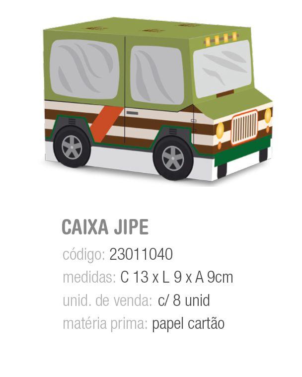 CX JIPE MUNDO DOS DINOSSAUROS 13x9x9 PCT C/8 UNIDADES