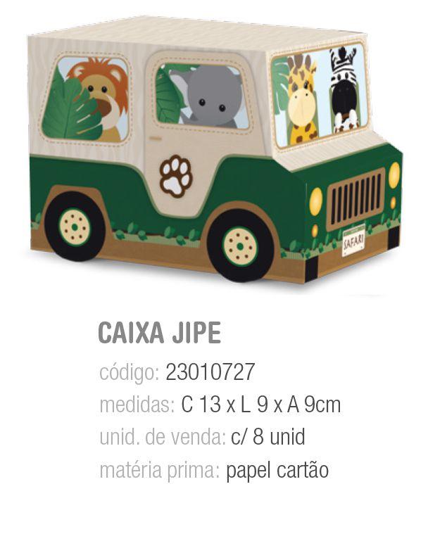 CX JIPE SAFARI 13x9x9 PCT C/8 UNIDADES