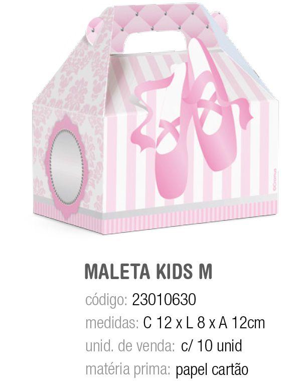 CX MALETA KIDS BALLET M 12x8x12 PCT C/10 UNIDADES