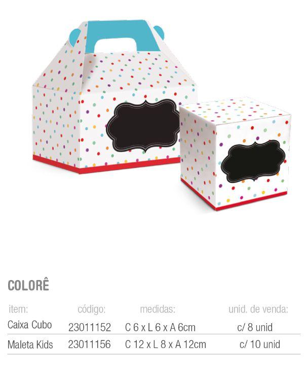CX MALETA KIDS COLORE M 12x8x12