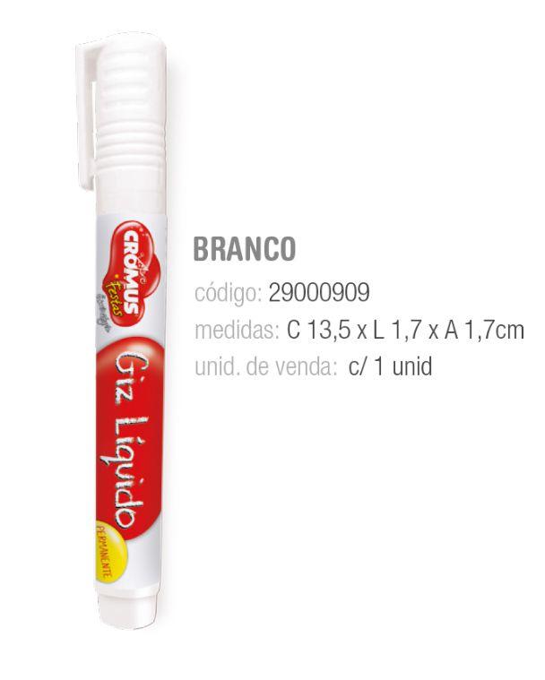 GIZ LIQUIDO PERMANENTE BRANCO PCT C/1 UNIDADE