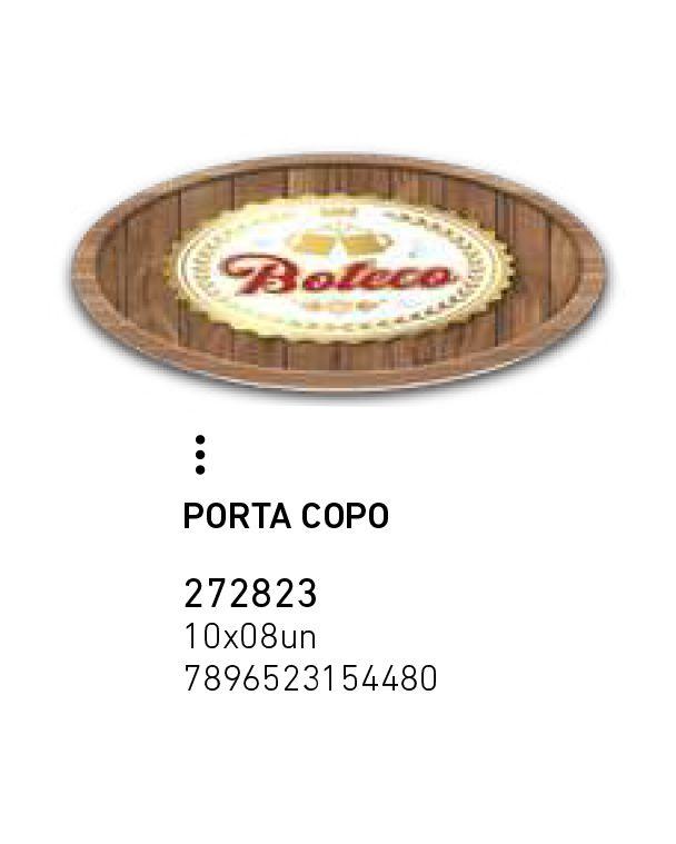 PORTA COPO BOTECO PCT C/8 UNIDADES