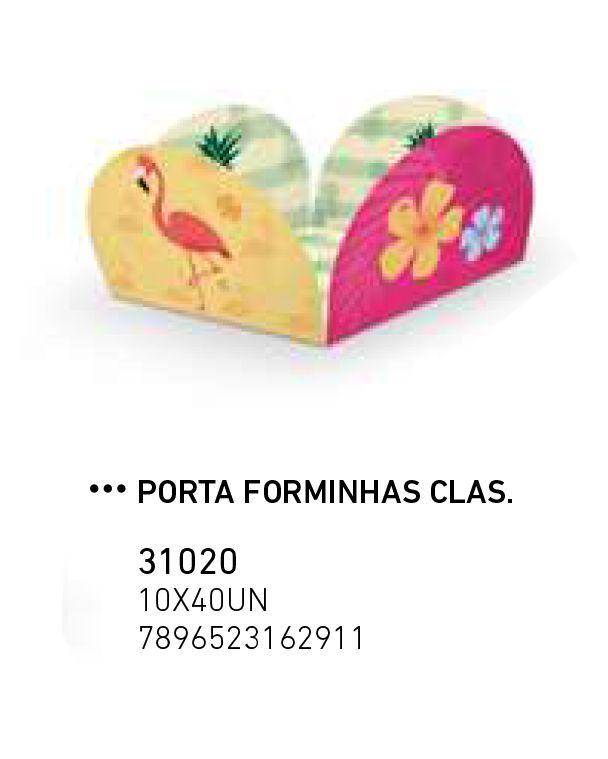PORTA FORMINHAS CLAS.FLAMINGO PCT C/40 UNIDADES