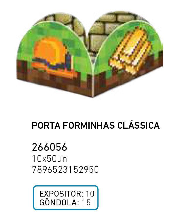 PORTA FORMINHAS CLAS. MINI PIXELS PCT C/50 UNIDADES