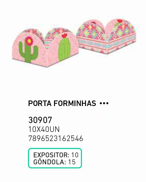 PORTA FORMINHAS LHAMA PCT C/40 UNIDADES