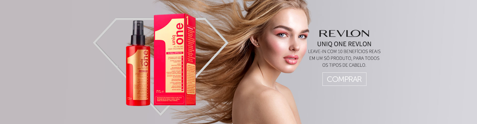 Uniq One Revlon Hair Treatment 10 Em 1
