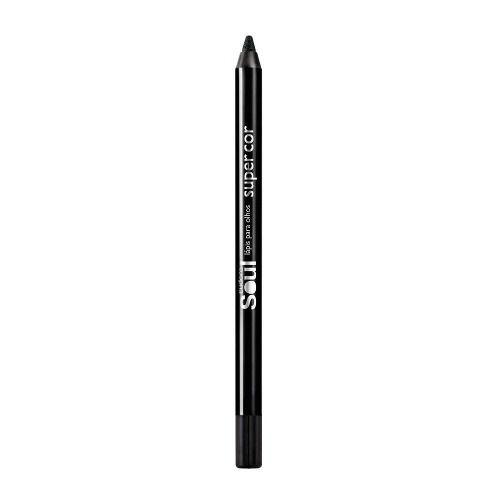 Lápis para Olhos Eudora Super Cor - Preto Top