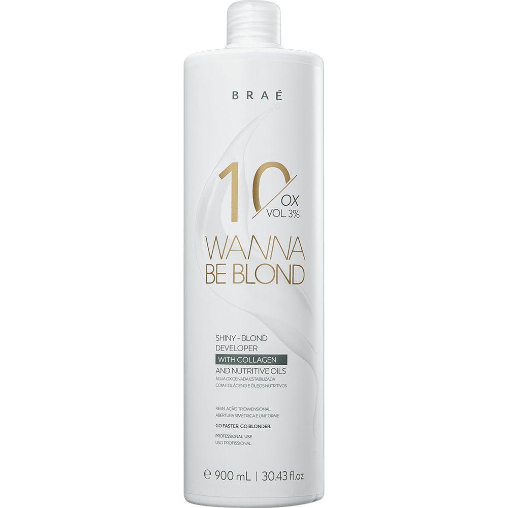 Água Oxigenada 10 Volumes 3% Wanna Be Blond Braé 900ml