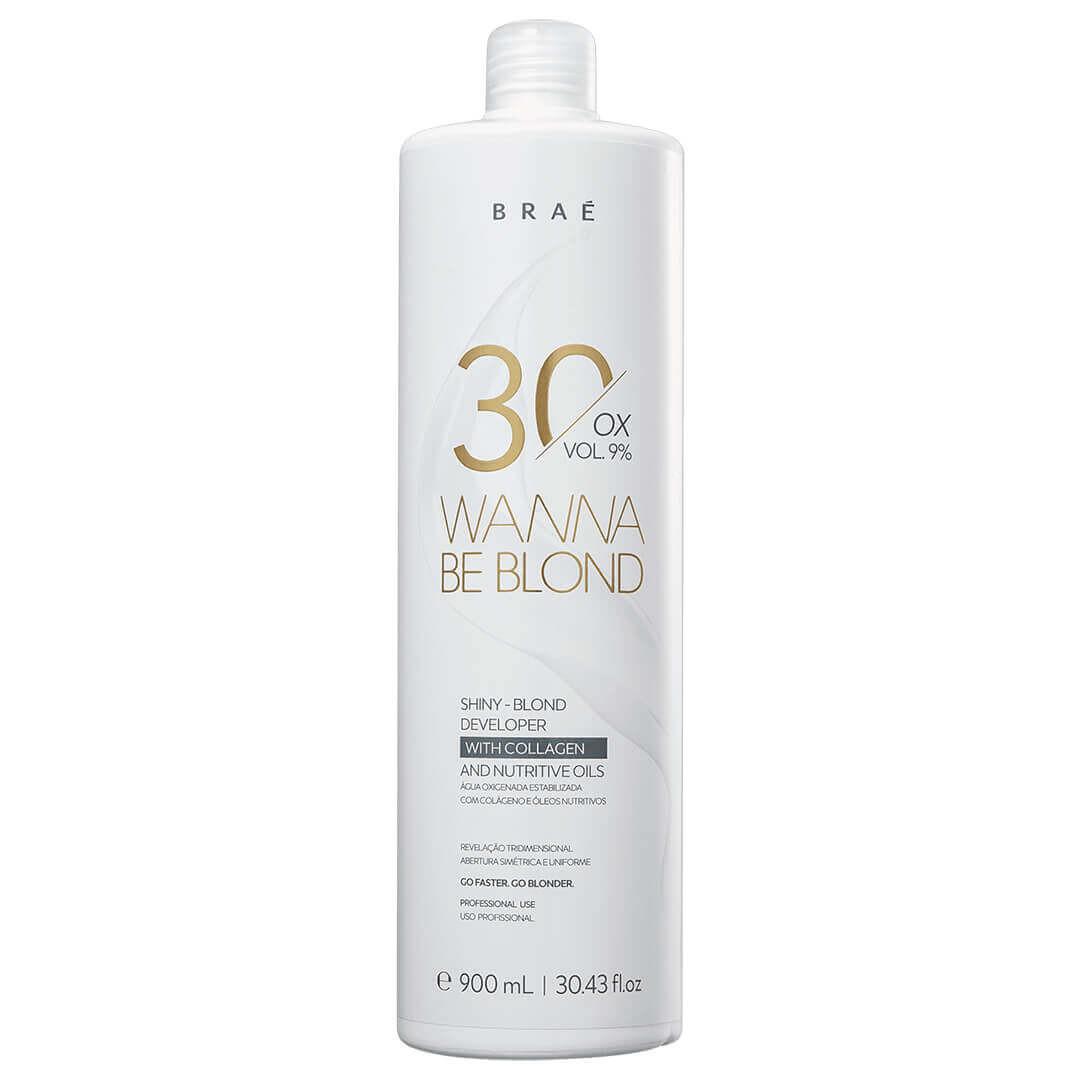 Água Oxigenada 30 Volumes 9% Wanna Be Blond Braé 900ml
