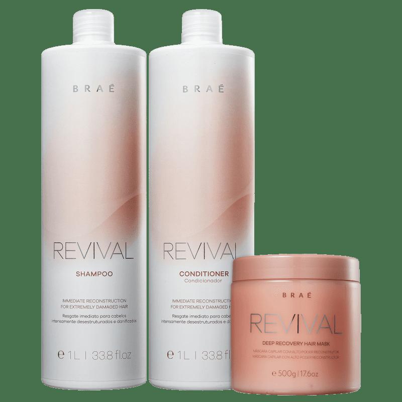 Braé Revival Kit Tratamento Profissional (3 Produtos)