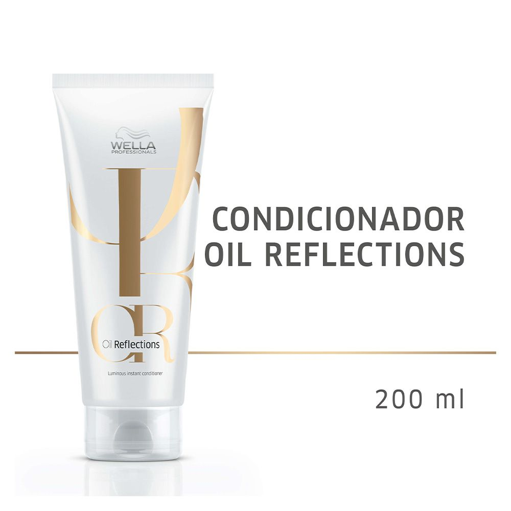 Condicionador Oil Reflections Luminous Instant Wella Professionals 200ml  - Shine Shop Perfumes e Cosméticos