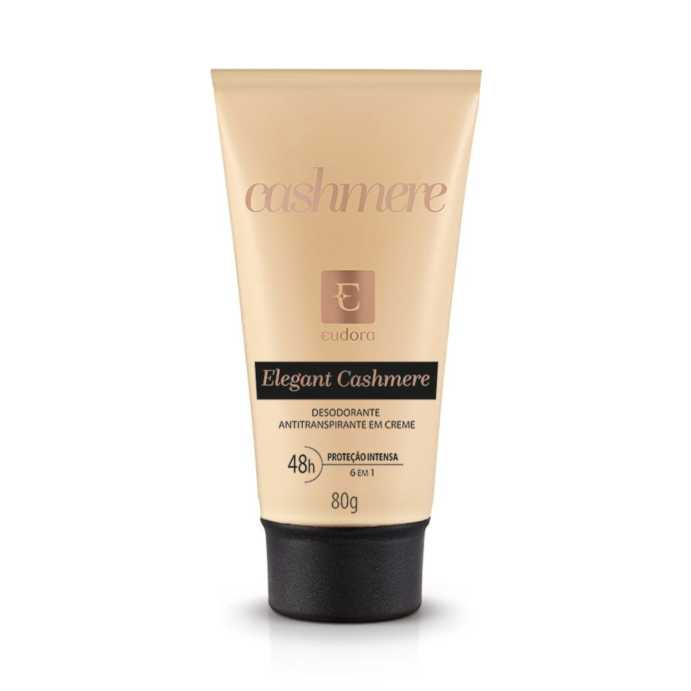 Desodorante Antitranspirante Creme Elgant Cashmere Eudora