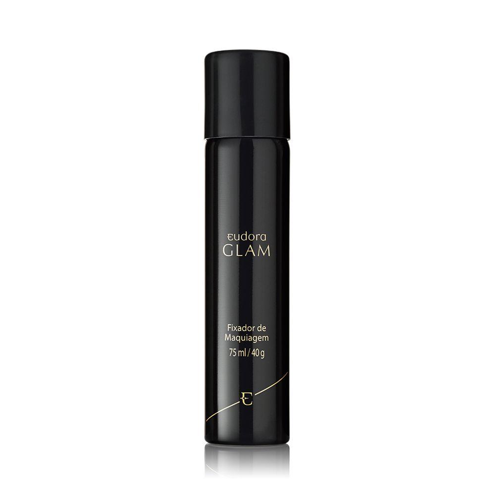 Glam Fixador de Maquiagem Spray Eudora 75ml