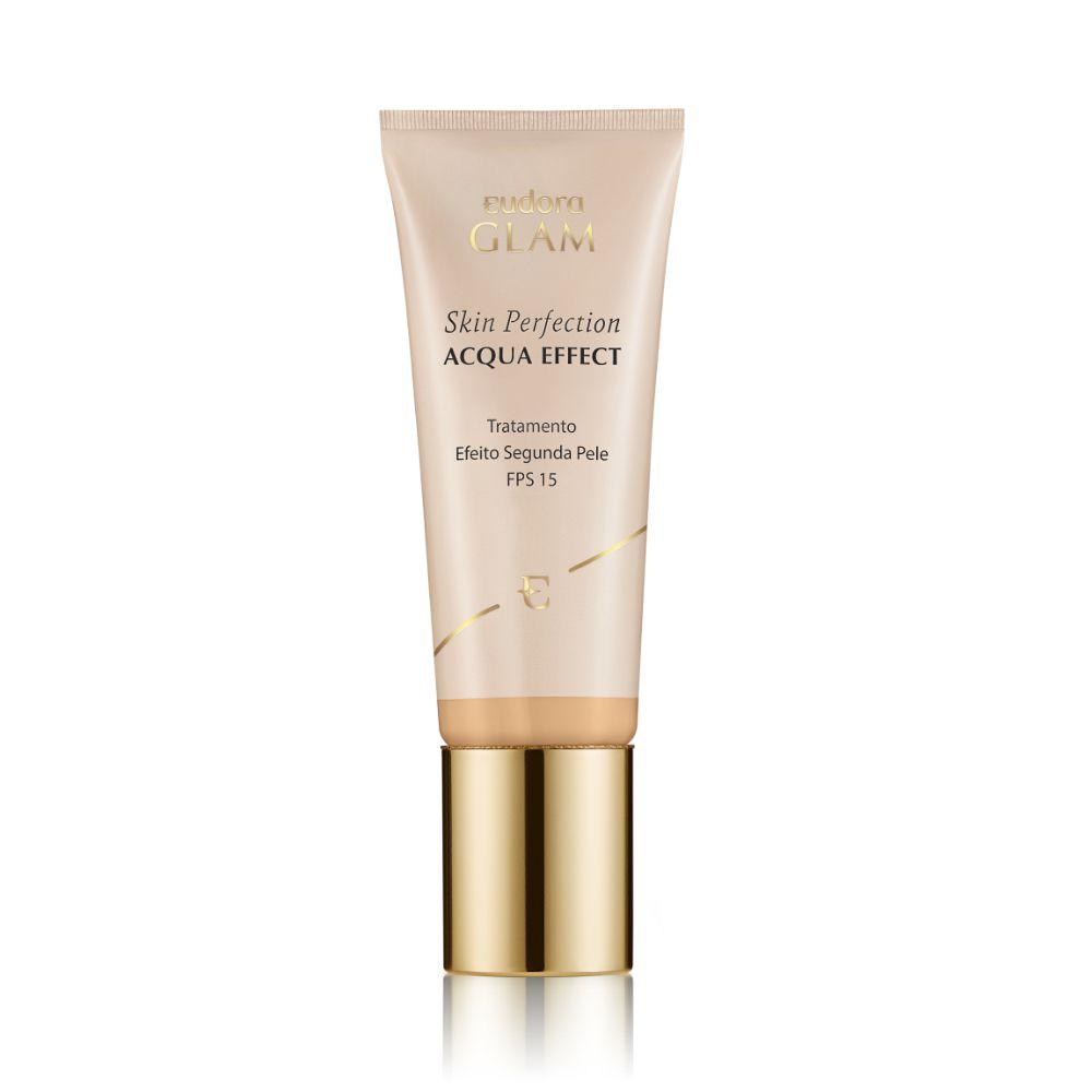 Glam Skin Perfection Base Líquida Acqua Effect 30ml Eudora