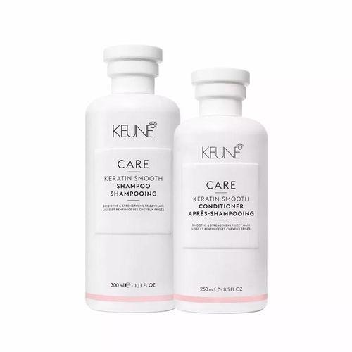 Keune Care Keratin Smooth Shampoo e Condicionador 250ml