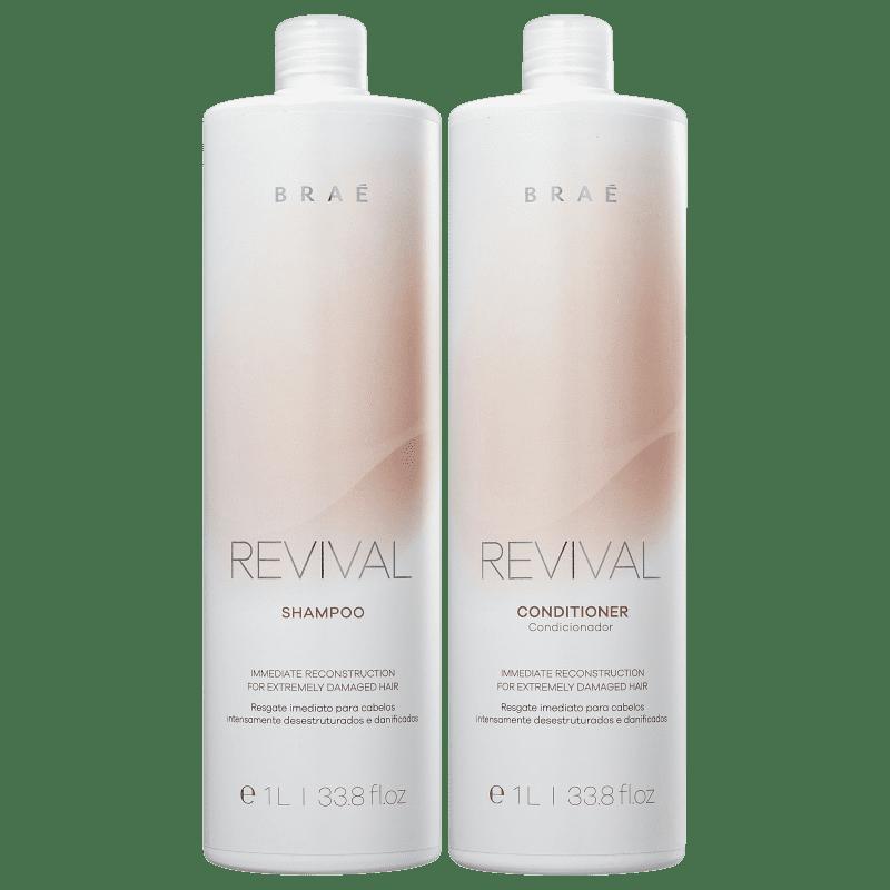 Kit Braé Revival One e Two (Passo 1 e Passo 2) litro