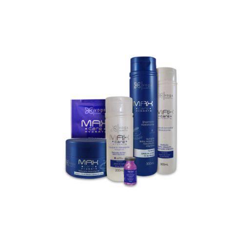 Kit Completo Hidratante Max Care Hydrate Voga Cosmeticos (5 produtos)