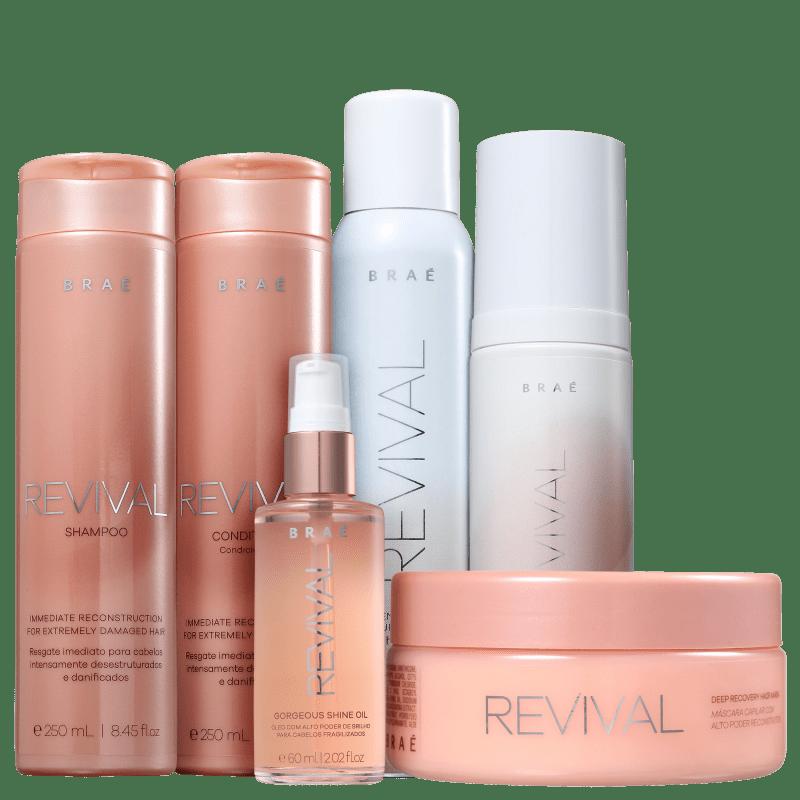 Kit Completo Revival Braé (6 Produtos)