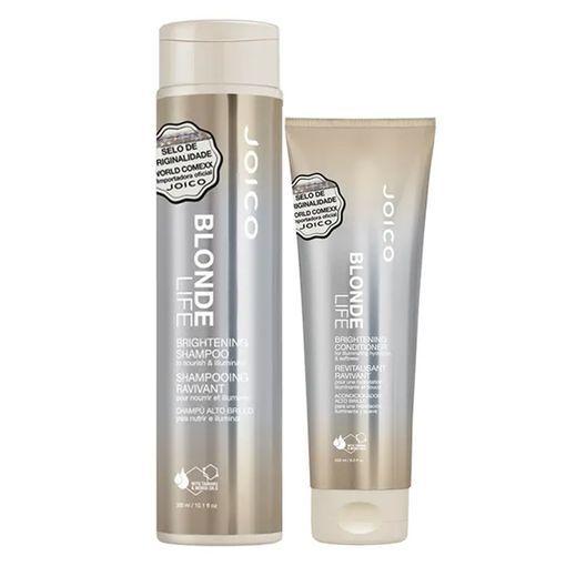 Kit Condicionador + Shampoo Blonde Life Brightening Joico