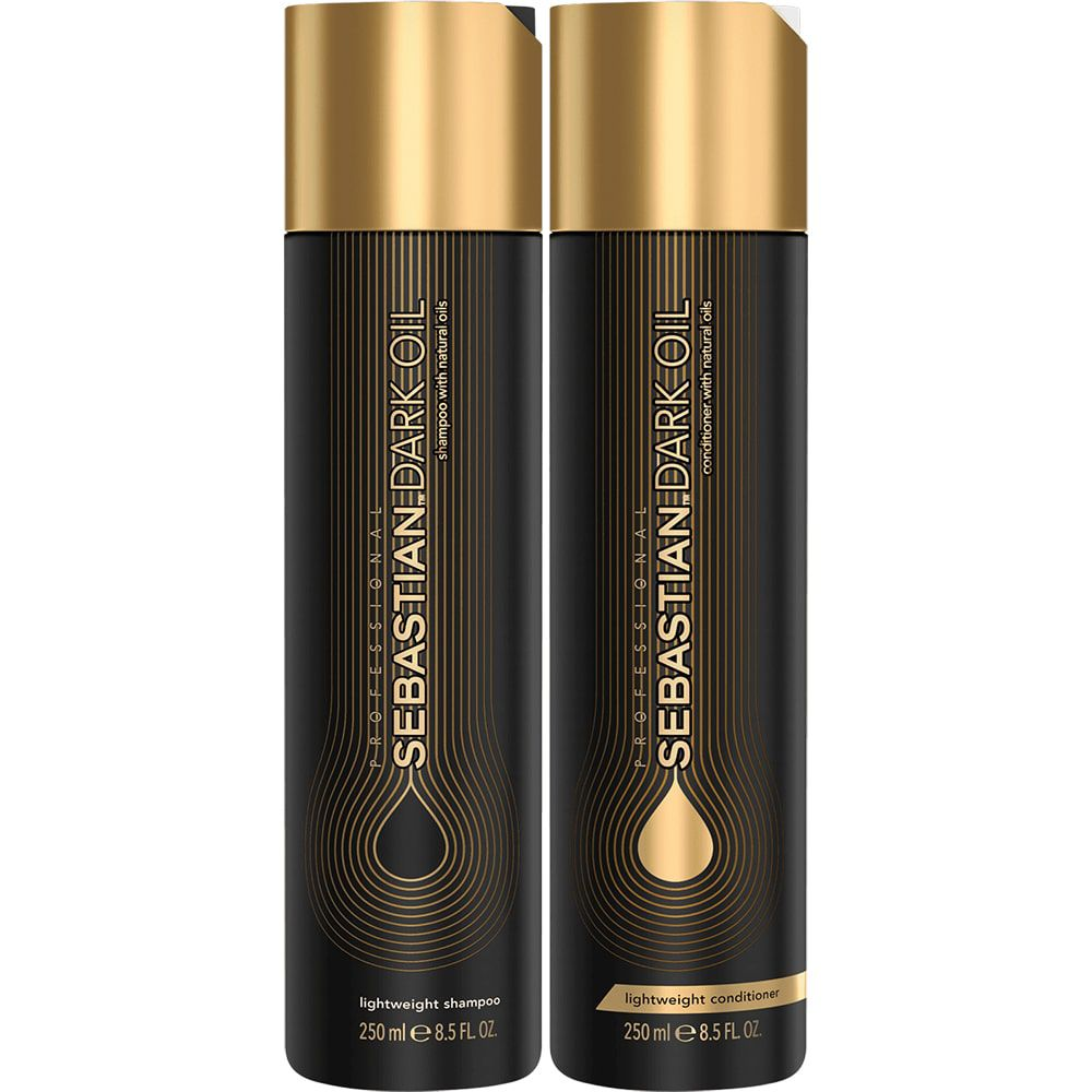Kit Dark Oil Home Care Duo Sebastian Professional (2 Produtos)